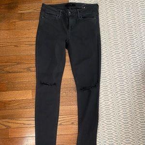Joe's jeans the vixen black jeans 27